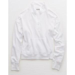 Aerie Quarter Zip Sweatshirt