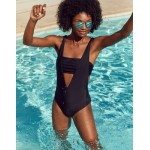 Aerie Layered One Piece Swimsuit