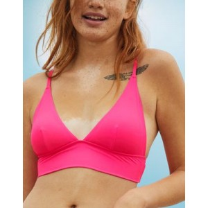 Aerie Longline Triangle Bikini Top