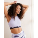 Aerie Play Seamless High Neck Sports Bra