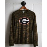 Tailgate Men's Georgia Camo Long Sleeve Tee