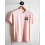 Tailgate Men's Boston Rainbow T-Shirt