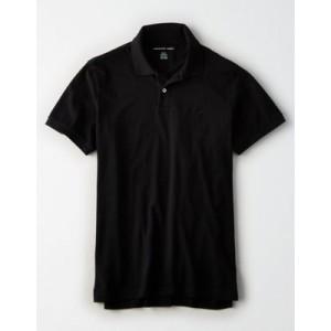 AE Logo Jersey Polo Shirt