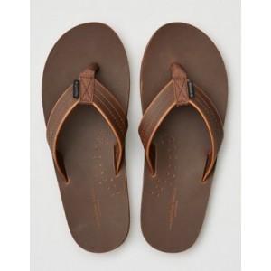 AEO Leather Flip Flop