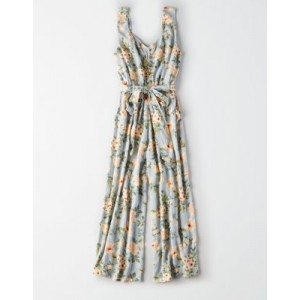 AE Floral Culotte Jumpsuit