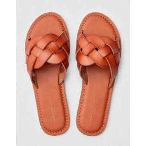 AEO Braid Slide Sandals