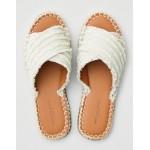 AEO Frayed X-Band Slide Sandals