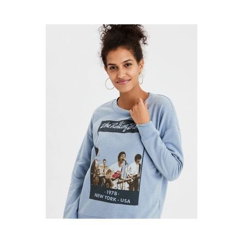 아메리칸이글 AE New York City Band Crewneck Sweatshirt