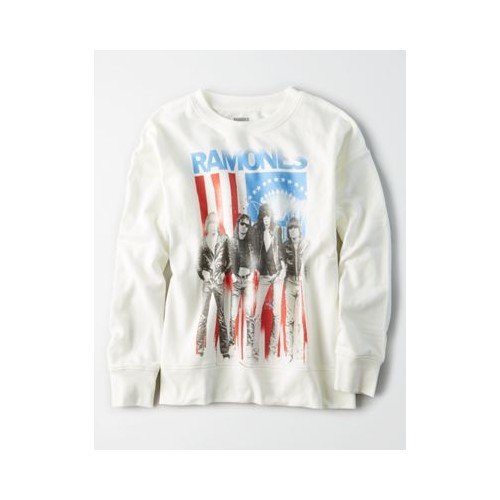 아메리칸이글 AE New York City Band Crew Neck Sweatshirt