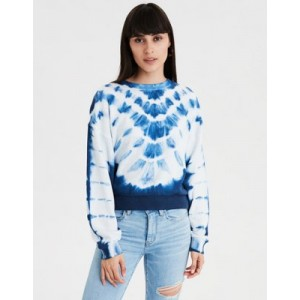 AE Tie Dye Crew Neck Sweatshirt
