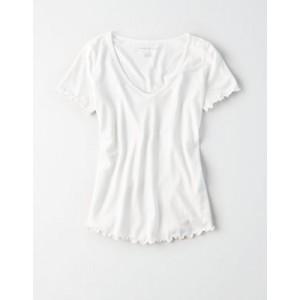 AE Lettuce Edge V-Neck T-Shirt