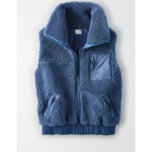 AE Studio Oversized Fleece Vest