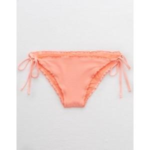 Aerie Pique Ruffled Cheeky Bikini Bottom