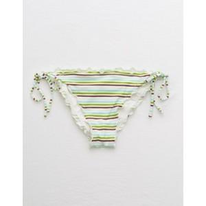 Aerie Ruffled Cheeky Bikini Bottom
