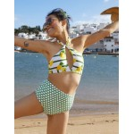 Aerie Pique High Waisted Bikini Bottom
