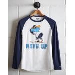 Tailgate Men's Tampa Bay Rays Baseball Shirt