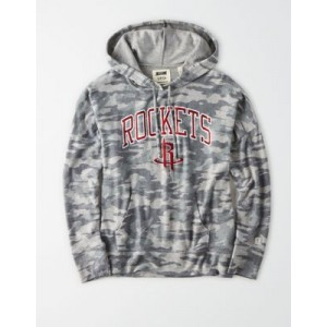 Tailgate Women's Houston Rockets Camo Plush Hoodie