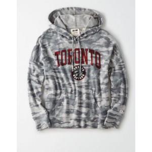 Tailgate Women's Toronto Raptors Camo Plush Hoodie
