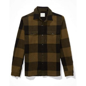 AE Flannel Shirt Jacket