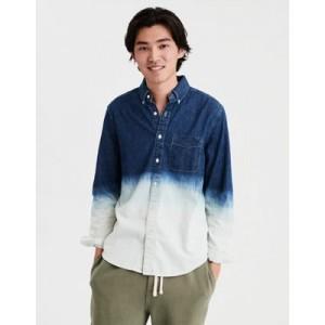 AE Dip Dye Denim Shirt