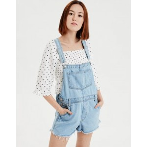AE High-Waisted Tomgirl Short Overall