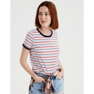 AE All Over Striped Tee
