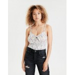 AE Sweetheart Neck Cropped Tank Top