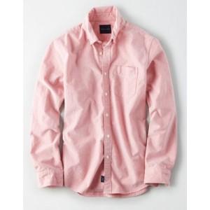 AE Seriously Soft Oxford Button Down Shirt