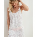 Aerie Cheetah Lace Cover Up