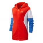 Womens NB Athletics Village FZ Hoodie