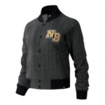 Womens NB Athletics Varsity Herringbone Bomber