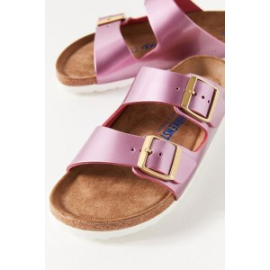 Birkenstock Arizona Soft Footbed Metallic Sandal