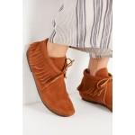 Minnetonka Classic Fringe Ankle Boot
