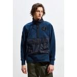 Nike Air Force 1 Half-Zip Fleece Pullover Sweatshirt