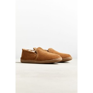Minnetonka Twin Gore Sheepskin Slipper
