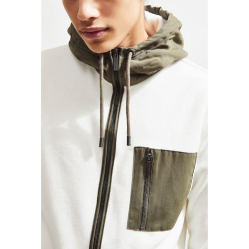 Native Youth Colorblock Fleece Jacket