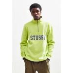 Stussy Half-Zip Contrast Sweatshirt
