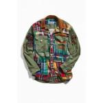 Polo Ralph Lauren Plaid Patched Shirt Jacket