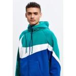 Nike Sportswear Full-Zip Colorblock Hoodie Sweatshirt