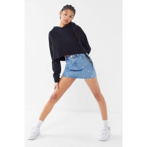 Tommy Jeans Embroidered Denim Mini Skirt