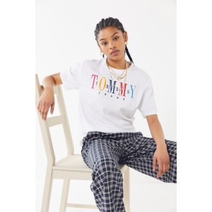 Tommy Jeans 1985 Embroidered Logo Tee