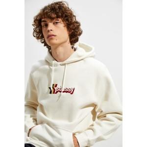 Stussy 3-Star Applique Hoodie Sweatshirt