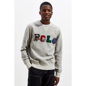 Polo Ralph Lauren Patches Crew-Neck Sweatshirt