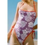 Roxy UO Exclusive Reversible Tie-Back One-Piece Swimsuit