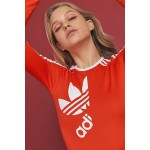 adidas Originals By Ji Won Choi 3-Stripe Long Sleeve Bodysuit