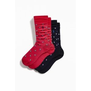 Polo Ralph Lauren Paisley Sock 2-Pack