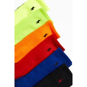 Polo Ralph Lauren Neon Marled Athletic Sock 6-Pack