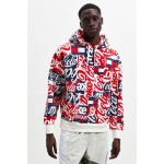 Tommy Jeans X Coca-Cola Allover Print Hoodie Sweatshirt
