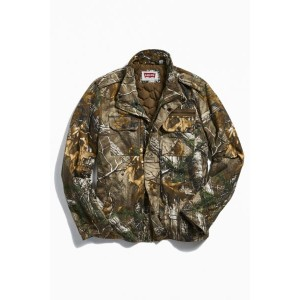 Levi's Camo Two Pocket Military Jacket