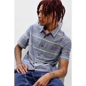 Patagonia Fezzman Stripe Short Sleeve Button-Down Shirt